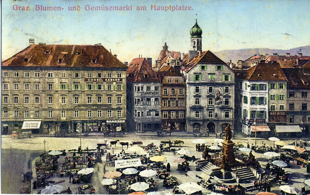 Adler Apotheke-Hauptplatz-um-1900