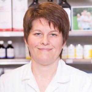 Adler Apotheke-Mitarbeiter Eva Schnabel