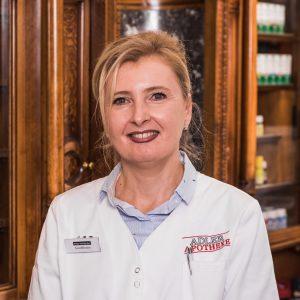 Adler Kosmetik-Mitarbeiter Helga-Kohlbacher
